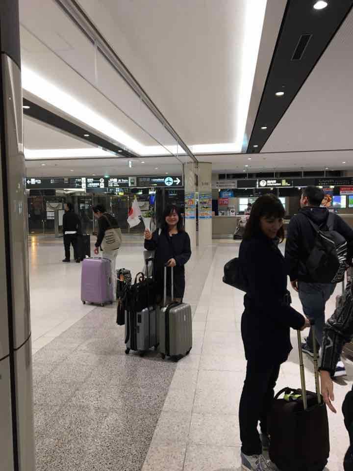 お迎え@新千歳空港