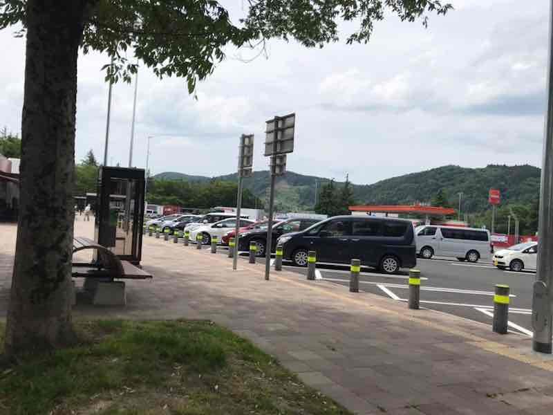 仙台の駐車場