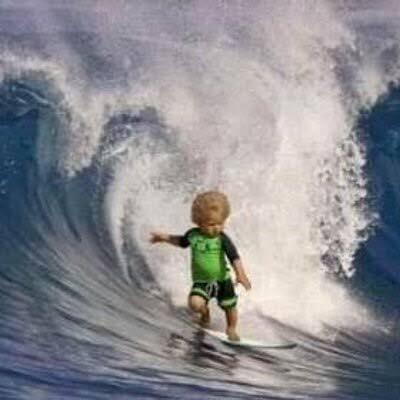 波に乗る時は乗れ!