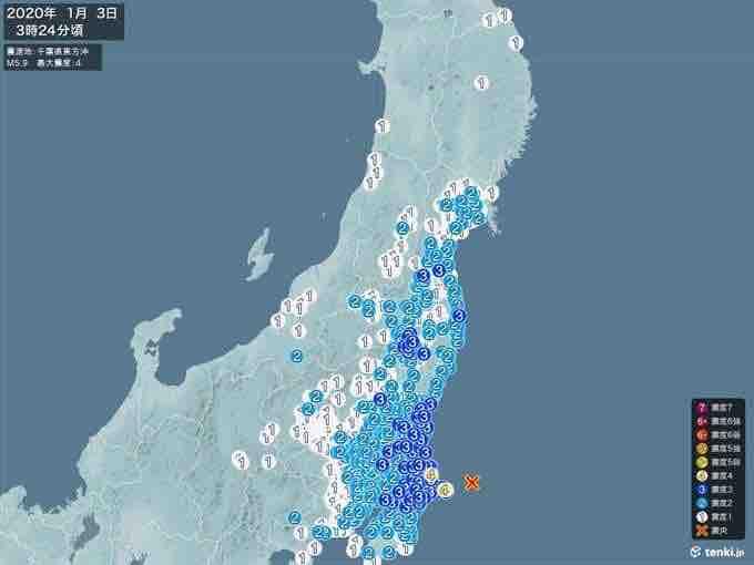 地震@千葉