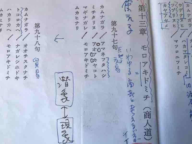 アマネフタハシ ミチタリヌ カタカムナ外伝ミチウタ第97句